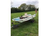 11 ft dory, day boat / fishing boat / trailer etc