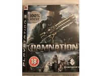 PS3 Game - Damnation