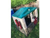 Stage 2 playhouse for garden summer