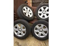Land Rover wheels