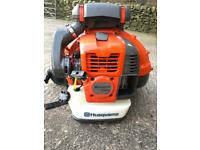 Brand new Husqvarna backpack leaf blower
