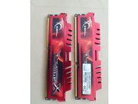 2x RipJaws RAM 8GB DDR3 F3-12800CL9D-8GBXL