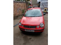 VW POLO 2003 1.2 petrol breaking for spares