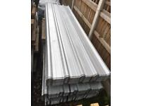 🌷2.4M Galvanised Box Profile Roof Sheets
