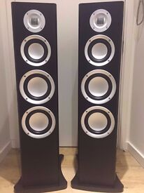 2x Brand new in box with warranty MA Audio 300 Floor standing speakers with stand