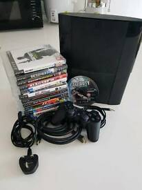 PS3 Super Slim 250gb with Games