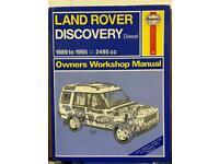 Haynes Landrover Discovery Tdi Manual