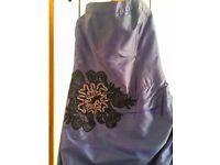 Ballgown/bridesmaid dress size 12 - blue
