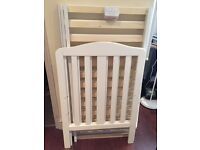 Mothercare Darlington Cot - White - Excellent condition
