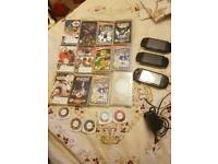 3 x psp with 17 games