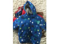 Bundle of boys clothes and coats size 18-24 months
