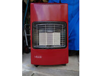 Lifestyle Calor Gas Heater with half bottle gas