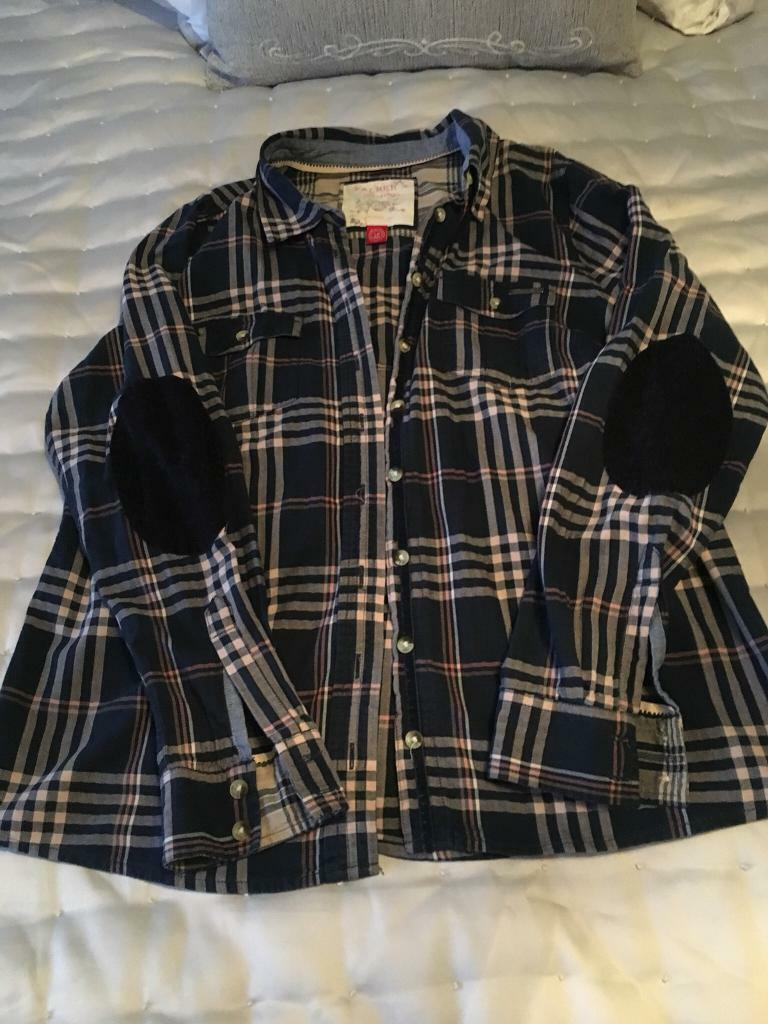 Ladies Check Shirt Size 18