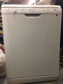 RECONDITIONED hotpoint dishwasher can be delivered and installed for extra