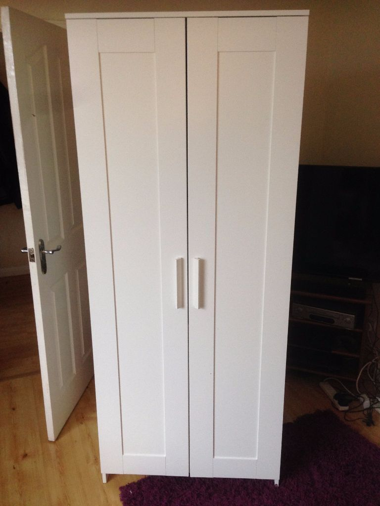 ikea brimnes wardrobe brand new built straight from the. Black Bedroom Furniture Sets. Home Design Ideas