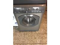 Hot point washer dryer 7kg silver