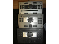Vauxhall Car CD Radios for sale. More than one available.