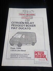 Pocket Vehicle mechanic manual