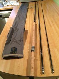 Salmon fly rod