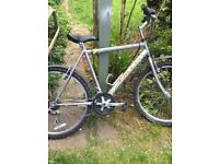 falon stealth gents mountin bike 10 shimo speed in good con