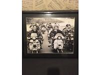 Job lot of quadrophinia, mod and who framed pictures