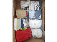 Boys clothes ranging from 0-3 upto 9-12 m