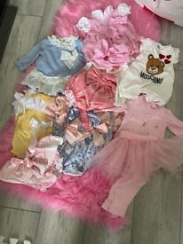 Girls Bundle up to 3-6 months