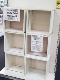 Shop fixtures fittings and shelves