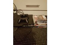 Ps3 and two controlers plus eight games for sale good contition offers please no time wasters thx
