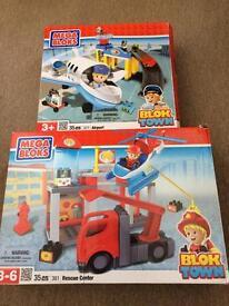 Mega Bloks blok town playsets