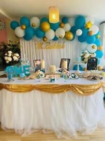 Birthday balloons, backdrop, dessert table decoration, baby shower decor in Hounslow