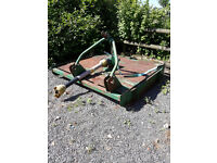 MAJOR 605 Topper. Single blade pasture topper, runs well, at present running behind a MF 35