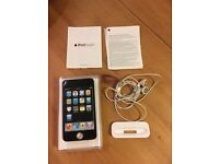 iPod Touch MC086BT black with box and accessories