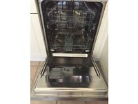 SILVER SMEG DISHWASHER