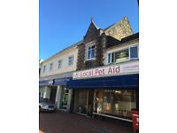 Three story building to rent with ( A3 licence ) suitable coffee ,takeway business .