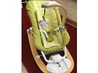 Chicco baby bouncy chair with music & MP3 compatiblity
