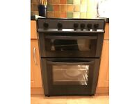 four hob two oven electric cooker as new