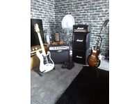 SWAP SWAP 2 Quality Gibson & Peavey Made In USA Electric Guitar + 2 Nice Amplifier Peavey & Marshall