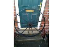 Cast iron wheel cog