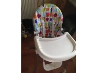 High Chair for sale great condition