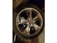 "Chrome 18"" alloy wheel's"