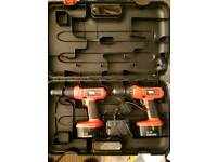 Black and Decker drill set