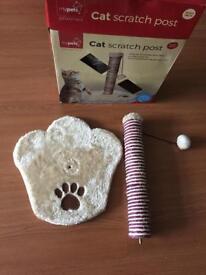 New cat scratch post