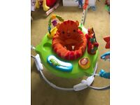 Baby jungle jumperoo