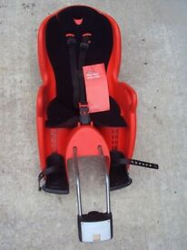 Childs bike seat from Halfords