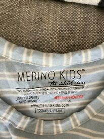 (Brand new) Merino Kids Go Go Sleeping Bag - Standard Weight