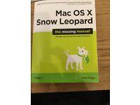 Mac OS X Snow Leopard, The Missing Manual, £2