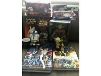 Star Wars Collection books and toys