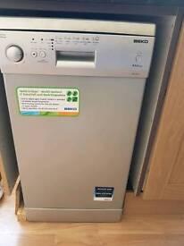 Becko Slimline Dishwasher