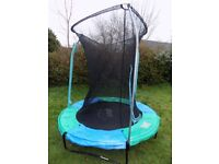 Plum 6ft trampoline with safety bars and net